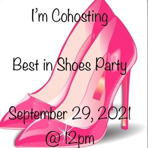 PARTY TIME! Best in Shoes Party September 29, 2021